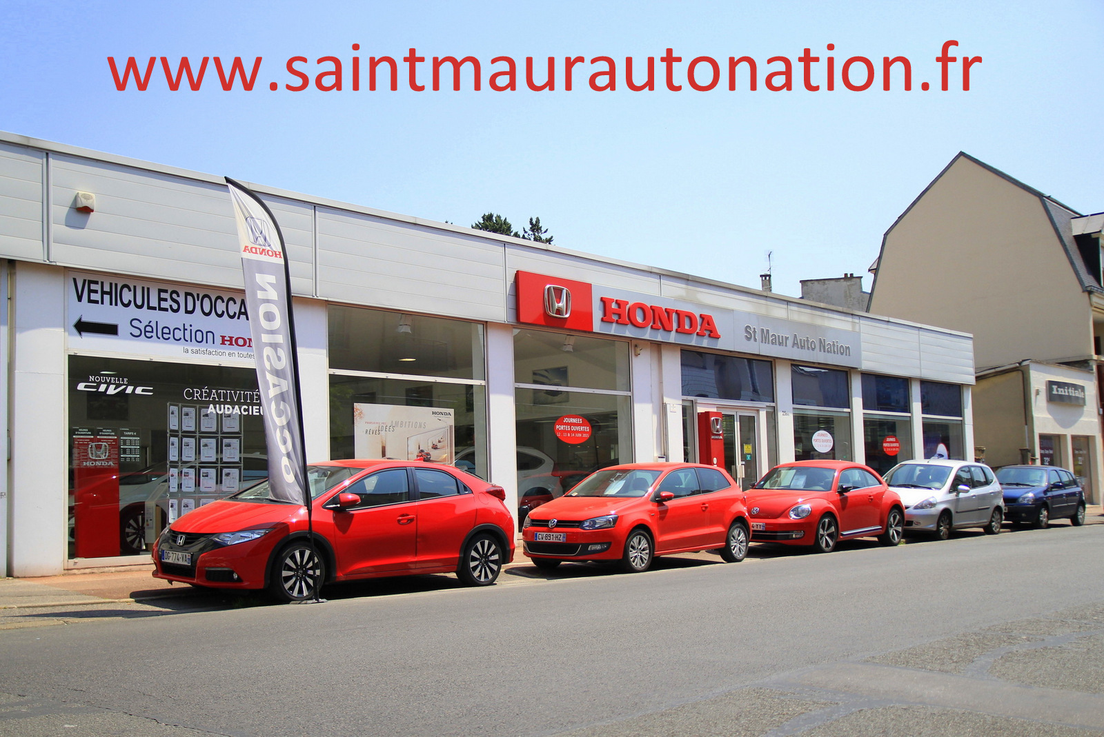 Vitrine Saint-Maur Auto Nation