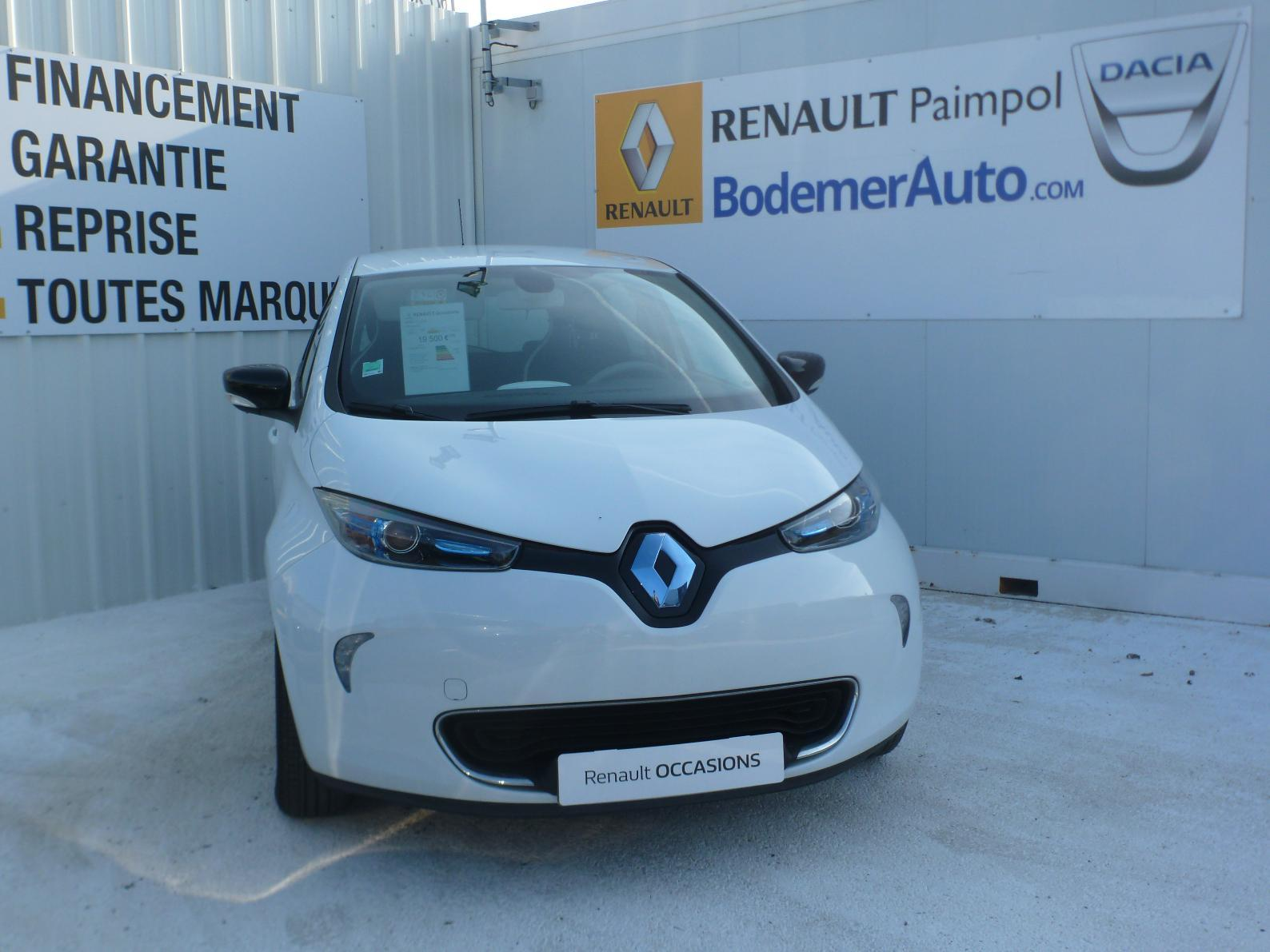 RENAULT Zoe Life charge normale Type 2 RENAULT PAIMPOL - Véhicule immatriculé PAIMPOL