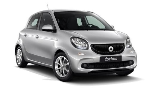 smart forfour 90ch-passion-twinamic